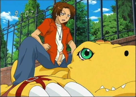 34 squad digimon episode data Gaping pussy filled with cum
