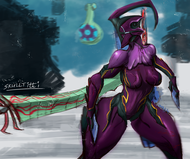 warframe prime next mesa after Cute red head anime girl