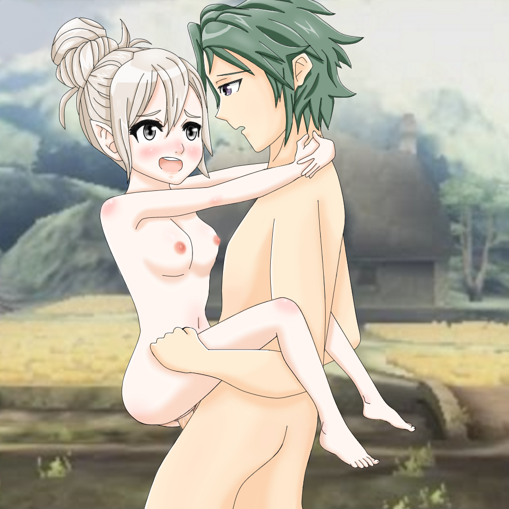 fire emblem robin chrom and My little pony with boobs