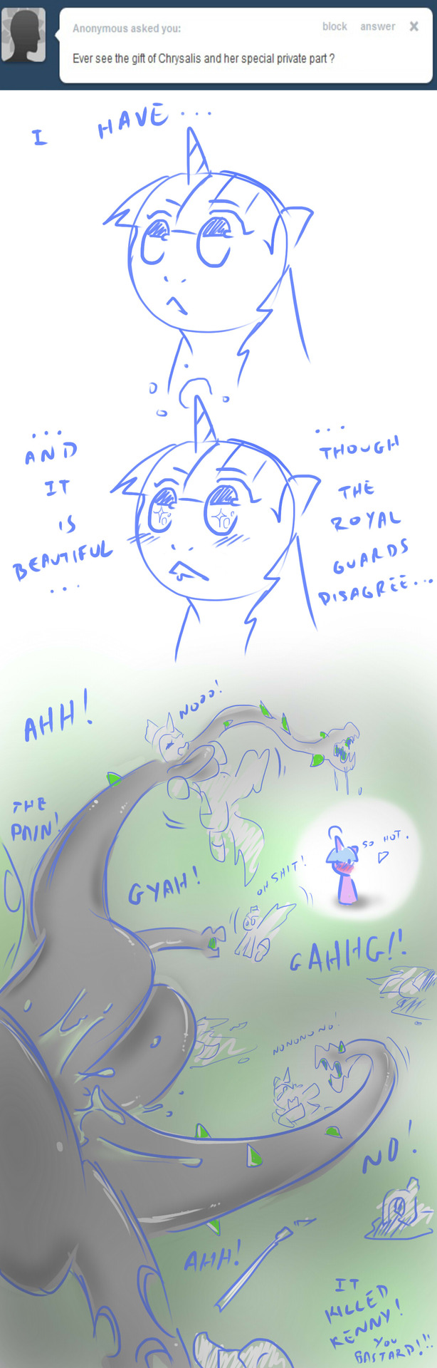 my chrysalis porn pony little Living with gamergirl and hipster girl english