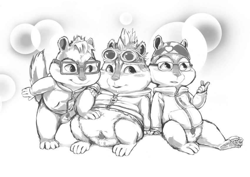 alvin chipmunks from and eleanor the Spooky's house of jumpscares cat