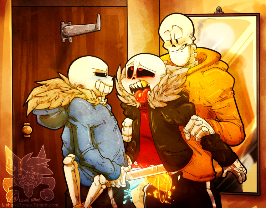 sans x papyrus underfell underfell How to get to sif the great grey wolf