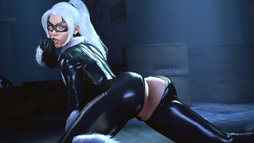 cat black ps4 spider-man Corruption of champions bunny girl