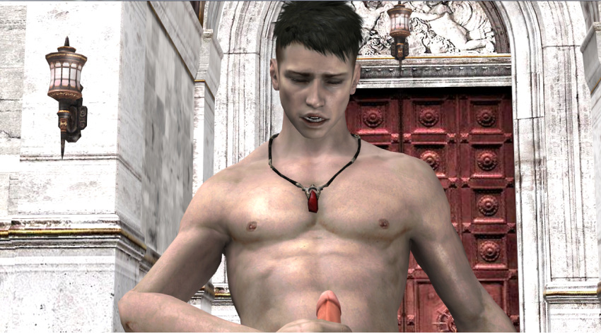 naked devil dante may cry Puppet combo feed me billy