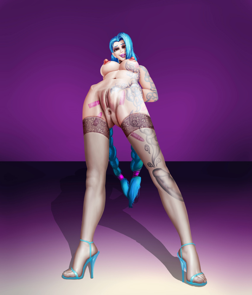 league of legends jinx naked Tails of demons and gods